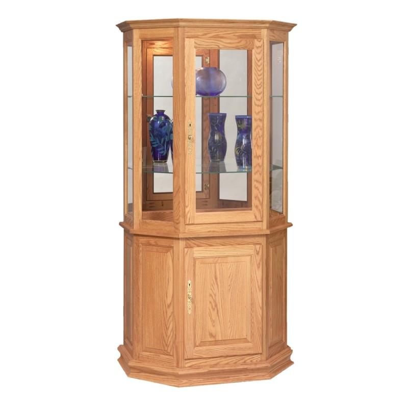 Angled Cabinet Curio ...