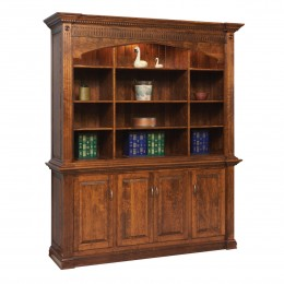 Crescent Moon Executive Bookcase