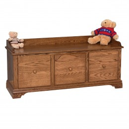 Traditional Bench With Drawers
