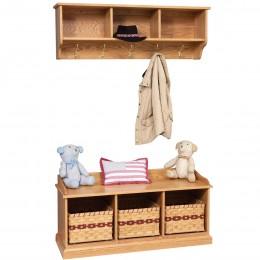 Traditional Shelf & Bench