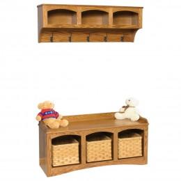 Mission Shelf & Bench