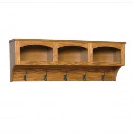 Mission Shelf With Storage