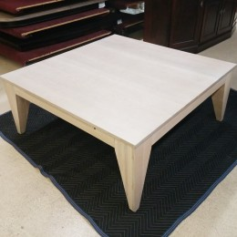 Custom QSWO Coffee Table