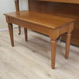 Custom Maple Piano Bench