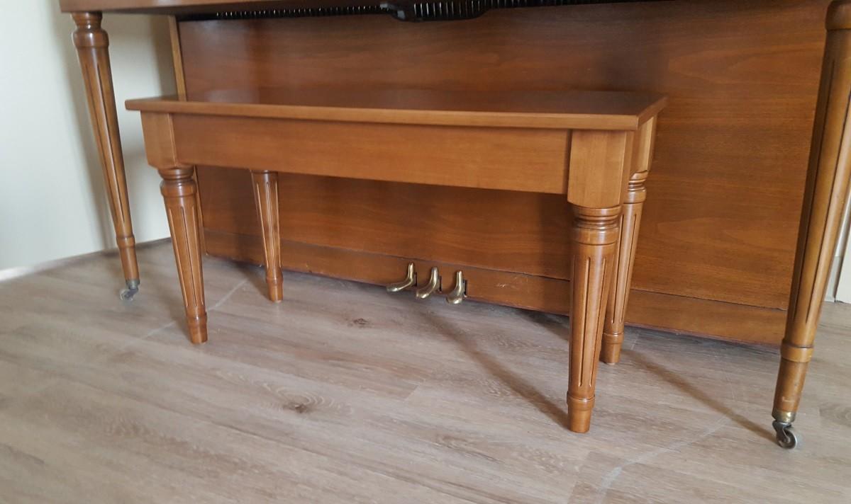 Custom Maple Piano Bench Amish Made Custom Piano Bench