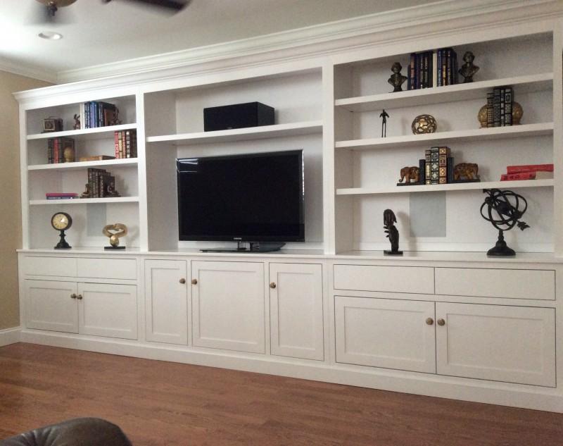 Custom Built In Maple Wall Unit Custom Amish Furniture