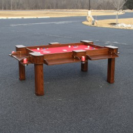 Custom Oak Game Table