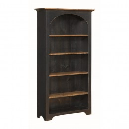 Pine Arched 6' Bookcase