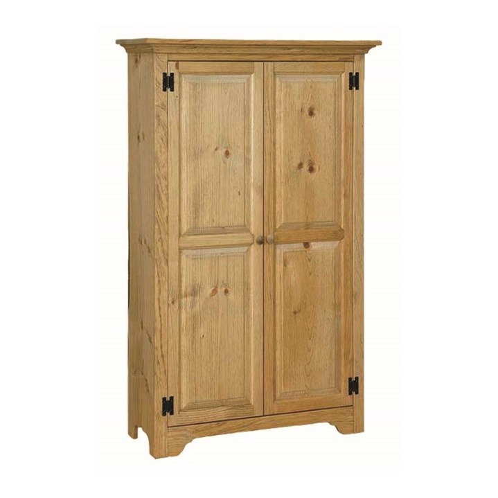 Pine Medium Storage Cabinet Amish Pine Medium Storage