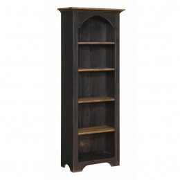 Pine Arched Small 6' Bookcase