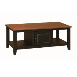 Pine Coffee Table With Doors