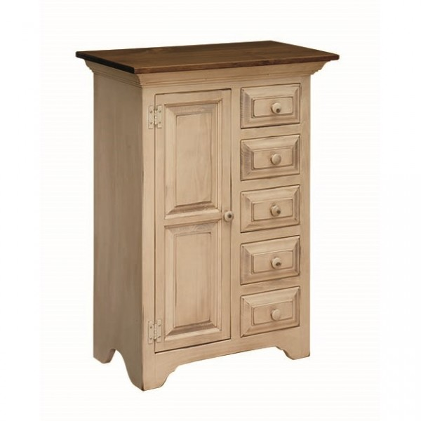 Pine Sewing Cabinet