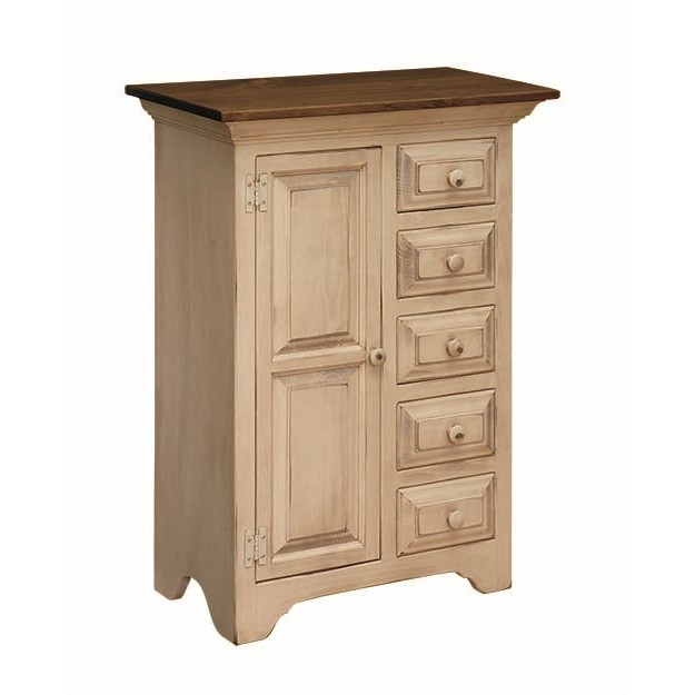 Pine Sewing Cabinet Country Lane Furniture