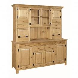 Pine Large Hoosier Cabinet