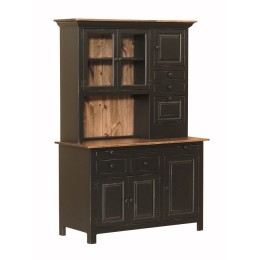 Pine Medium Hoosier Cabinet