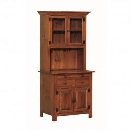 Pine Small Hoosier Cabinet