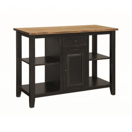 Pine 2 Door Kitchen Island
