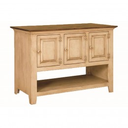 Pine 6 Door Kitchen Island