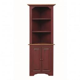 Pine Small Corner Cupboard