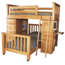 Amish Made Bunk Beds & Children's Loft Beds - Country Lane Furniture