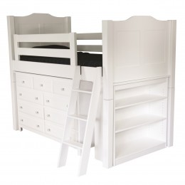 Child's Low Loft Bed