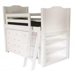 Child's Low Loft Bed