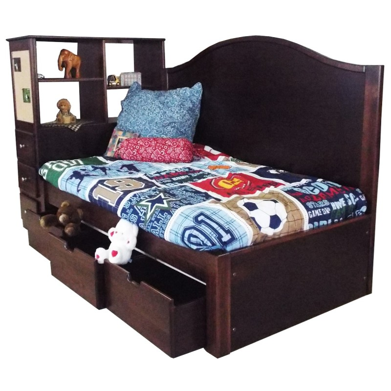 Child 39 S Madison Platform Bed Set Amish Made Captains Bed Handcrafted Bed Country Lane