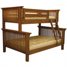Mission Twin Over Full Bunk Bed