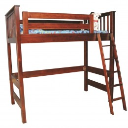 Open Loft Bunk Bed