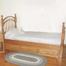 Child's Double Bow Bed