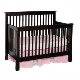 Shaker Convertible Slat Crib