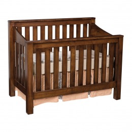 Mission Convertible Slat Crib