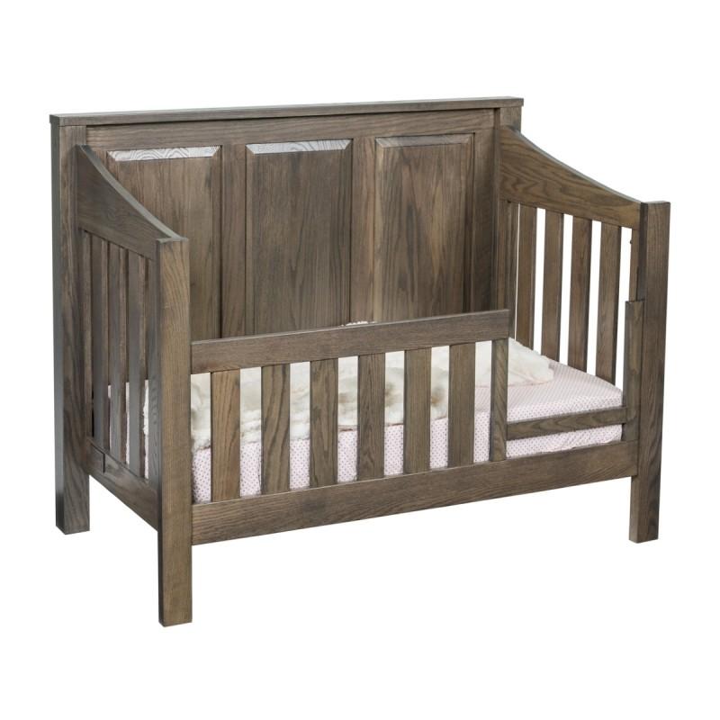 Mission Convertible Panel Crib Amish Made Modern Crib