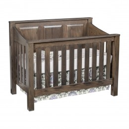 Mission Convertible Panel Crib