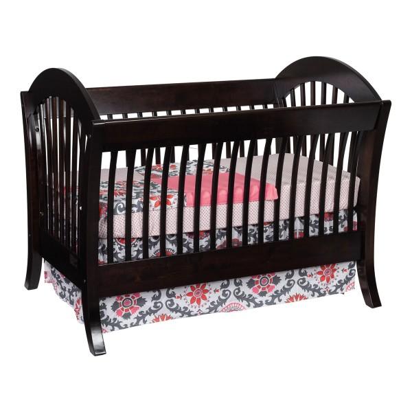 Manhattan Convertible Crib Amish Made Modern Crib Handcrafted Crib