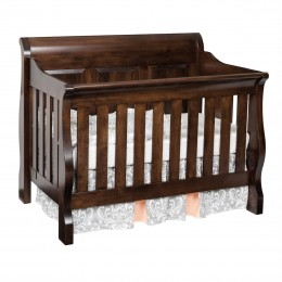 Traditional Convertible Panel Crib