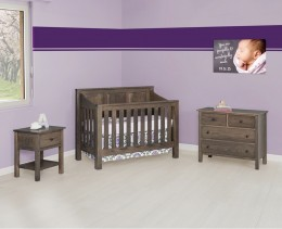 Mission Panel Crib Set