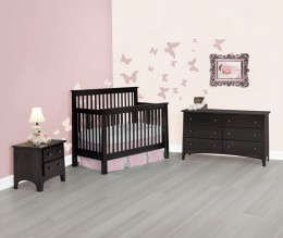 Shaker Slat Crib Set