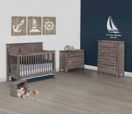 Shaker Panel Crib Set