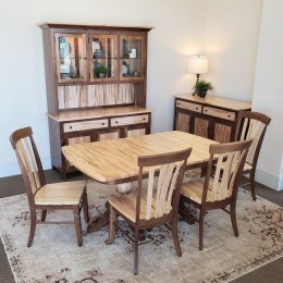 Rustic Wilmington Dining Set