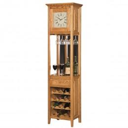 Clock Wine Cabinet