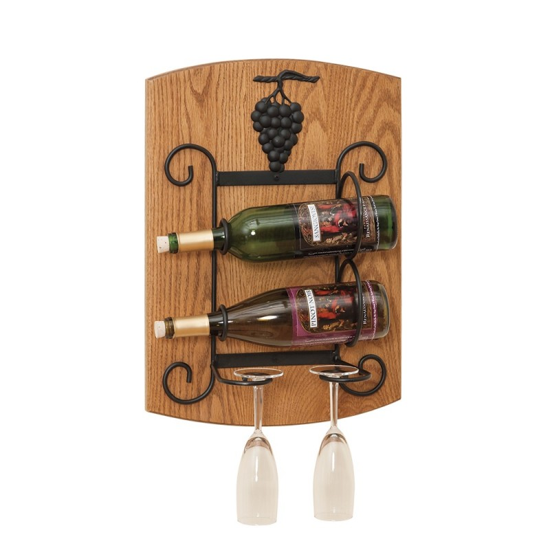 Wall Hanging Wine Rack Amish Made In Pa For