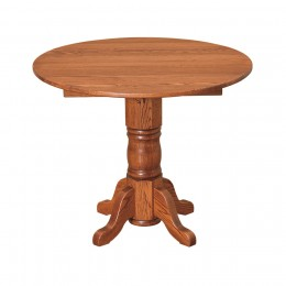 "36"" Round Drop Leaf Table"