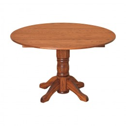 "48"" Round Drop Leaf Table"