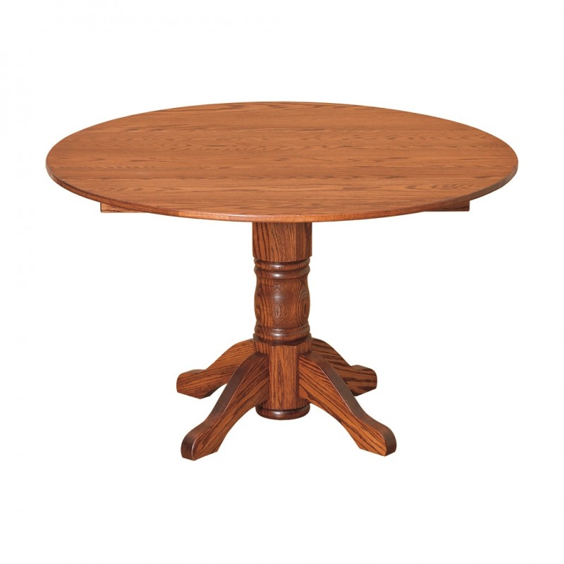 "Amish 48"" Round Drop-leaf Table - Country Lane Furniture"