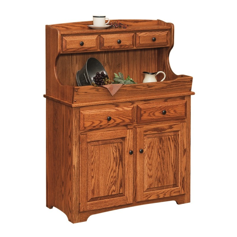 High back dry sink amish made near lancaster pa country lane