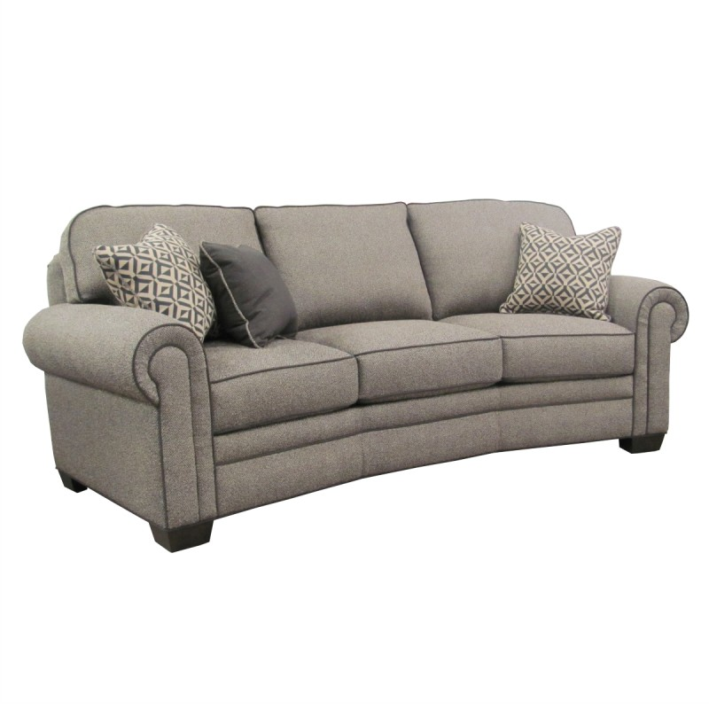 Baldwin conversation sofa usa made upholstery for Conversation sofa