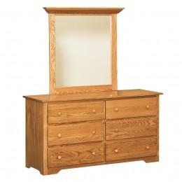 Annville Shaker Dresser & Mirror
