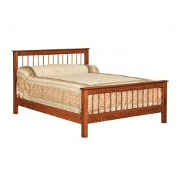 Annville Shaker Spindle Bed