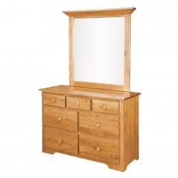 Annville Shaker Small Dresser & Mirror